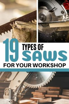 Types of Saws for Your Woodworking Shop - Saved by Scottie