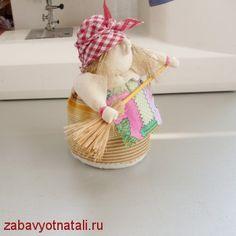 Baba Yaga - bambola popolare russa - tutorial