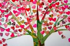 Creative And Beautiful Valentine Day Tree Craft Ideas With Tree Of Hearts Valentine Edition