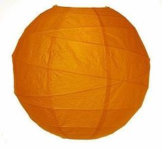 Butterscotch Orange 14 Inch Premium Round Paper Lantern by Luna Bazaar. $5.50. This butterscotch paper lantern is made with the finest quality rice paper and bamboo freestyle ribbing. As with all our premium paper lanterns, they can be used with most ceiling fixtures and with most light cords for hanging lanterns. They can also be used with our LED battery lights as convenient, cord-free lighting and decoration for parties, weddings, patios, gardens, and outdoo...