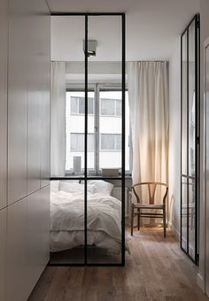 great glass wall & door