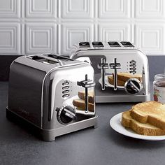 How many thumbs up to this? Toaster SMEG Toaster - 2 Slice Toasters of the Go Retro with These Cool Kitchen Gadgets! OMG this toaster! Kitchen Tools, Kitchen Gadgets, Kitchen Decor, Kitchen Ideas, Kitchen Design, Kitchen Shelves, Kitchen Layout, Kitchen Stuff, Crate And Barrel