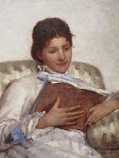 ✉ Biblio Beauties ✉ paintings of women reading letters & books - Mary Cassatt   The Reader, 1877