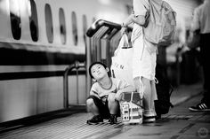 'Are we there yet?' #Tokyo Station | by #AlfieGoodrich