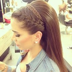 Best hairstyle for indian brides braided hairstyles for wedding,updos hairstyles with tiara funky hairstyles head wraps,wedding hairstyles curly short hairstyles. Pretty Hairstyles, Braided Hairstyles, Wedding Hairstyles, Hairstyles 2018, Hairstyle Braid, Beach Hairstyles, Braid Bangs, Men's Hairstyle, Headband Hairstyles