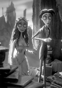 """Tim Burton's Corpse Bride"" Tim Burton Stil, Tim Burton Art, Film D'animation, Film Serie, Tim Burton Corpse Bride, Emily Corpse Bride, Tim Burton Johnny Depp, New Wave, Neil Gaiman"