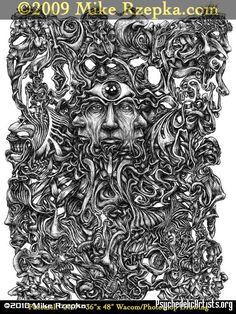 psychedelic graphite drawings - Google Search