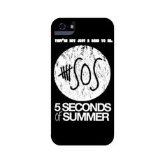 5 Seconds of Summer They're Not Jus iPhone 5 and 5s Tough Case... ($35) ❤ liked on Polyvore featuring accessories and tech accessories