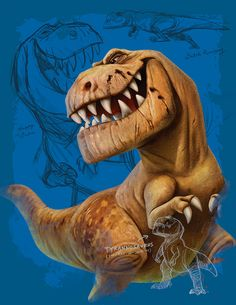Tyrannosaurus Rex by AnimalPixel Desing of a T-Rex behaving funny-angry. It can be used on your website, on a web page or as interior graphic, or you might print Childrens Cushions, Dinosaur Bedding, Personalized Gifts For Kids, Custom Gifts, Spinosaurus, The Good Dinosaur, Tyrannosaurus Rex, T Rex, Digital Illustration