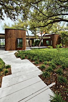 South: Mark Word DesignThe garden Mark Word Design created for an Austin, Texas, home sited adjacent to a nature reserve puts water conse...