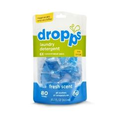 80 Ct Dropps Laundry Pacs Only $12.22 or Lower Shipped! | SassyDealz.com