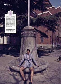 Nostalgic in Tsinghua: Hao Yun Xiang for Esquire China image hao yun xiang photo 005