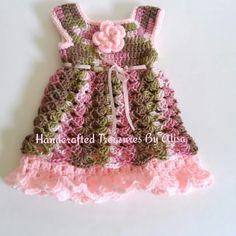 0 to 3 months crochet dress