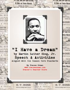Martin Luther King, Jr. Day Actvities & Resource