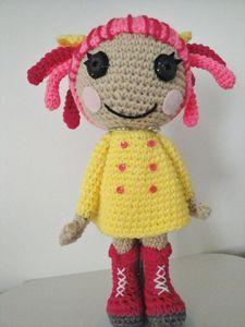 Amigurumi Lala Poppy Pinketts