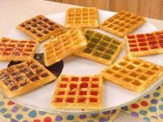 Waffles   Massas   Mais Você - Receitas Gshow