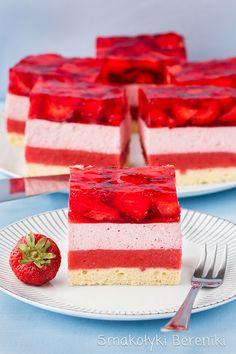 Cookie Recipes, Dessert Recipes, Jelly Cake, Polish Recipes, Polish Food, Mouse Cake, Mini Cakes, Yummy Cakes, Sweet Recipes