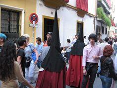 momentos de la Semana Santa de Sevilla en 2011, mi primera vez en un evento de tal magnitud
