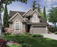 Country Plan: 1,994 Square Feet, 3 Bedrooms, 2.5 Bathrooms - 2559-00275