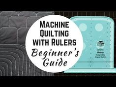 Everything you need to know about machine quilting with rulers on your sewing machine! Angela Walters makes it easy and unintimidating!