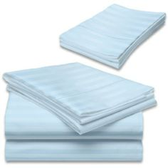 "600 Thread Count Egyptian Cotton Stripe Blue King Bed Skirt by Scala. $39.99. 1 Bed Skirt. Set Includes: 1 King/CalKing Size Bed Skirt 76"" X 80"" with 15"" drop, Tailored style, split corners, Material: 100% Egyptian cotton,Sateen finish Bed Skirt, Single-ply, Care instructions: Machine washable."