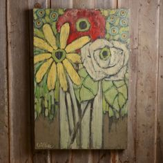 If a picture is worth a thousand words, original artwork tells the story. Express yourself with beautiful art finds that are as one-of-a-kind as you are. Sharpie Art, Mini Canvas Art, Decoupage, Small Art, Painting Inspiration, Wood Art, Art Lessons, Flower Art, Watercolor Art