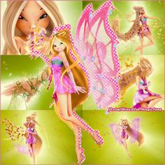 Winx Club: The Secret of the Lost Kingdom, Enchantix 3D Transformation :)
