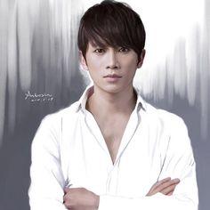 "Instagram의 지성/ fanpage님: ""Chinese fan art @justin_jisung ❤#지성#jisung#チソン#池晟 ❤️ @_justin_jisung_ #fanart #shinsegi #killmehealme"""