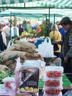 irish open air market stall - bridie's