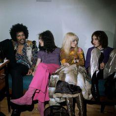 The Jimi Hendrix Experience,Copenhagen Denmark,Jan 10th 1969