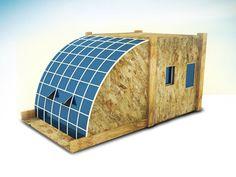 vivienda modular desplegable para emergencias