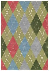 Adorable Capel argyle rug. Found on efloors.com