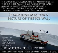 The Ice Circle of the Flat Earth kept secret through the Governments Antarctic Treaty and Space Organisations. Interesting Conspiracy Theories, Flat Earth Conspiracy, Nikola Tesla, Flat Earth Proof, Nasa Lies, Nasa Space Program, Ancient Mysteries, Antarctica, The Real World