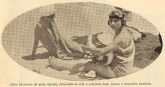Sunbathing in Portugal, 1930