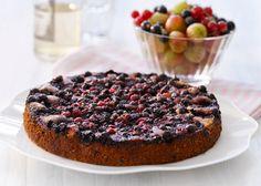 havens frugter tærte med bær