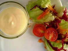 Molho para Saladas - http://www.receitassimples.pt/molho-para-saladas/