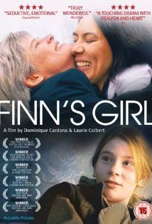 "Finn's Girl (2007)  Dr. Finn Jeffries plays a new stepmother to her deceased lover's daughter Zelly. She also took over her lover's abortion clinic that is being protested by increasingly violent ""pro-lifer's"". The movie covers, teenage angst, death threats, abortion issues and love. All in all, interesting drama...  www.lesbianpickup.com"
