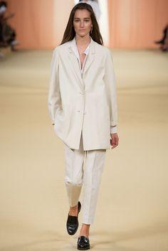 Hermès Spring 2015 Ready-to-Wear Fashion Show - Josephine Le Tutour (Elite)