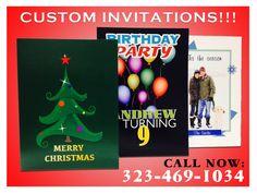 Custom Invitations! Custom Invitations, Merry Christmas, Seasons, Prints, Party, Merry Little Christmas, Merry Christmas Love, Seasons Of The Year, Receptions