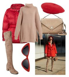 """""""street style"""" by chiaraladi ❤ liked on Polyvore featuring Ienki Ienki, Rebecca Minkoff, LMNT, Raey, contestentry and nyfwstreetstyle"""
