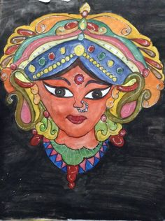 Indian goddess DURGA my own stuff
