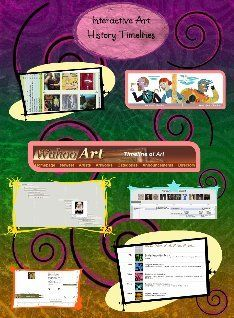 interactive art history timelines