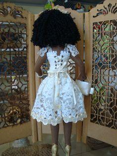 Bonecas de pano negras. Soraia Flores