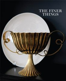 The Finer Things interior design book designed by Sowins Design for Potter.