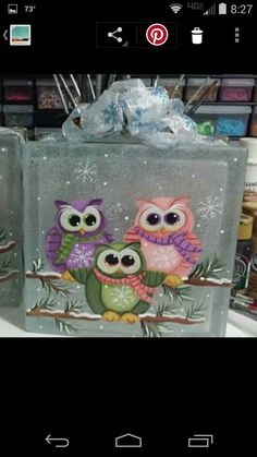 1000+ ideas about Tole Painting on Pinterest | Painting Patterns Decorative Paintings and Tole · Painted Glass BlocksDecorative Glass BlocksLighted ... & Grinch Glass Block Ornament Filled Glass Block Frosted Holiday Glass ...