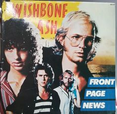 Wishbone Ash, Front Page News, Vintage Record Album, Vinyl LP, Classic Rock Music, British Rock Band, Hard Rock by VintageCoolRecords on Etsy