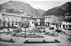 Bogota _Plaza de San Victorino año 1937 como cambio de año en año, hasta hoy. Street View, Plaza, City, Painting, Photos, Vintage, Bogota Colombia, Historical Photos, Antique Photos