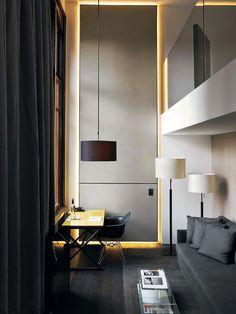 Contemporary Arquiteto: Piero Lissoni  Fotógrafo: Max Zambelli  Fonte: Elle Decor Italia Maio 2012