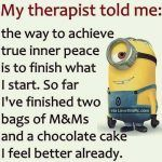 funny quotes & We choose the most beautiful Minion Memes for Moms for you.Minion Memes for Moms most beautiful quotes ideas Funny Minion Pictures, Funny Minion Memes, Minions Quotes, Funny Texts, Funny Jokes, Hilarious Pictures, Minion Sayings, Funny Pictures With Captions, Funny Quotes And Sayings