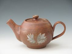 Pottery Teapot Handmade Ceramic Teapot by InsCeramics on Etsy, $55.00